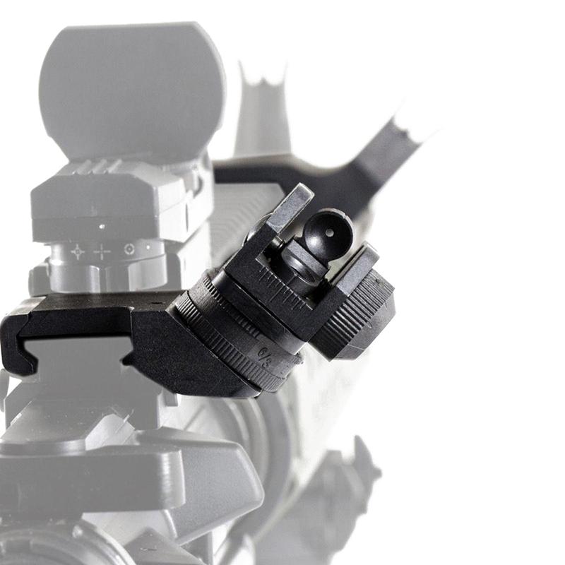 AR15 AR 15 AR-15 Front Rear Sight 45 Degree Rapid Offset Transition Backup Iron Sight Rapid Rifle Sight New 2017