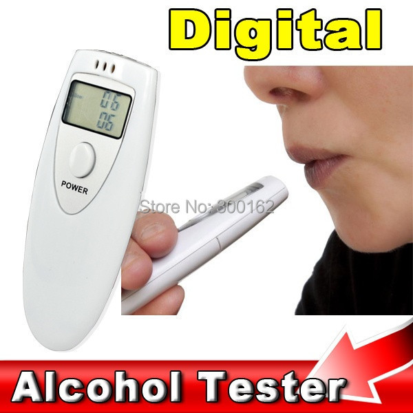 Portable Mini LCD Display Digital Alcohol Breath Tester Professional Breathalyzer Meter Analyzer Detector - Dropshipping Worldwide store