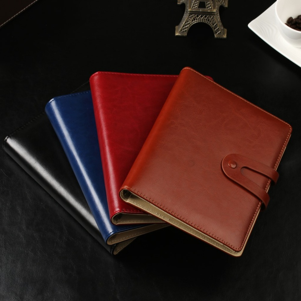 Creative Design To Cover Notebook : Fashion magnetic buckle design creative notebook
