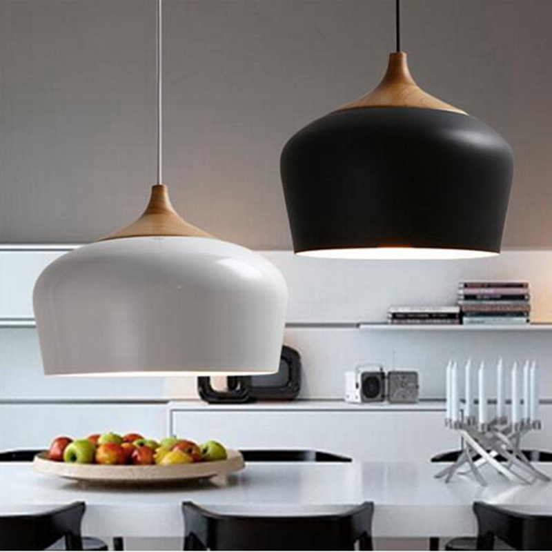 Modern White Kitchen With Island And Pendant Lights: Aliexpress.com : Buy LukLoy Pendant Lights, Modern Kitchen