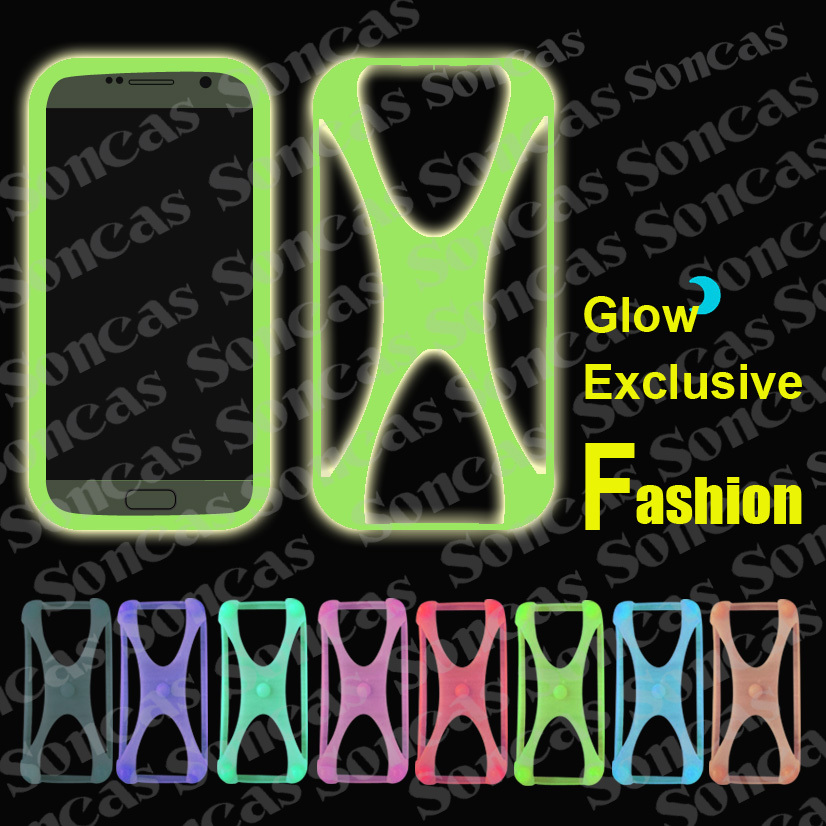 Newest Fashion Silicon Soft Universal Bumper Cool Glow Phone Case For MTC Smart Sprint 4G + Free Gift(China (Mainland))