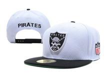 brand bone Unkut Pirates Snapback caps white black gorras sports hats men women adjustable baseball - Lily Trade store