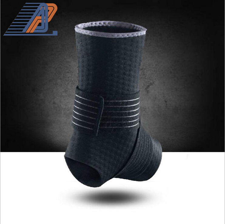 Sport Breathable Ankle Brace Sports Protector Adjustable Ankle Support Bandage Elastic Brace Support Football Basketball 1pcs(China (Mainland))