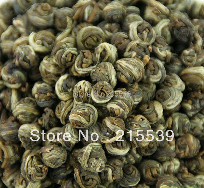 Гаджет  [GRANDNESS] 1kg,2013 Fresh New Organic Premium China Jasmine Dragon Pearl Fragrance GREEN TEA,Free Shipping None Еда