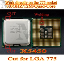 Wholesale Processor Xeon X5450 /3.0GHz/12M/1333 close to LGA775 Core 2 Quad Q9650 CPU works on LGA 775 mainboard no need adapter