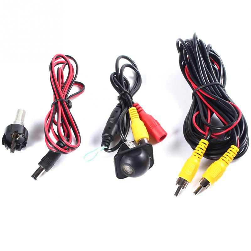 1set of Car Camera CCD HD Plastic Car Punching the Camera For Universal all car display<br><br>Aliexpress
