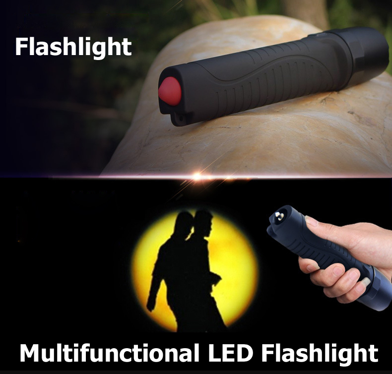 Portable Electronic Torch Power Bank Automotive Hammer Strong Light Torch Utility Model Patent IPX-8 Waterproof Endurance Pocket(China (Mainland))