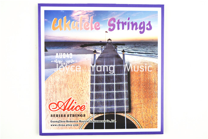 Alice AU043 Clear Nylon Ukulele Strings 1st-4th Strings Free Shipping Wholesales<br><br>Aliexpress