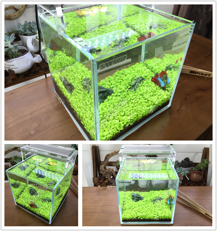 ... Aquatic Fish Tank Landscape-in Decorations from Home & Garden on