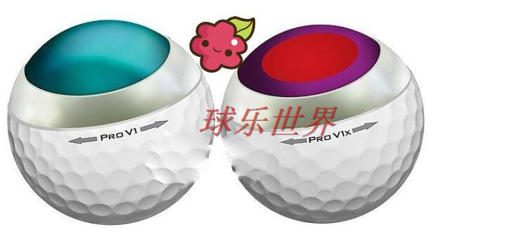 Perfect level golf pro v1x golf balls used golf 3-4 layer(China (Mainland))