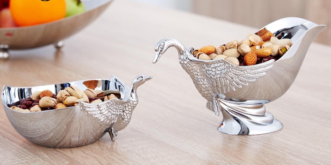 Fashion Stainless Steel Fruit Bowl, Table Decorations, European Fruit Dish Decorative Fruit Bowl Dinnerware Set(China (Mainland))