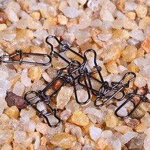 Buy 100pcs/lot Fishing Barrel Swivel Safety Snap 16.5mm 0.16g Fishing Tackle Fishing Swivels Snaps Connector Accessories free ship for $5.84 in AliExpress store