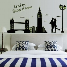 Buy Fluorescence Noctilucent Glow Dark Luminous London City Vinyl Removable DIY Mural Art Decor Wall Stickers Decal for $6.83 in AliExpress store