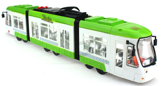 2015 Brinquedos Metro Double City Train Kids Toys For Children Model Train Children'S Toys City Subway Acousto-Optic Over Size(China (Mainland))