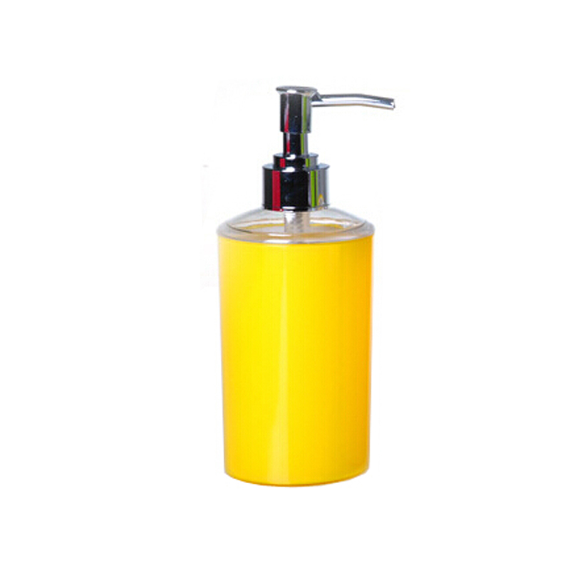 Euro Simple Fashion Colorful Lotion Bottle With Hand Pump