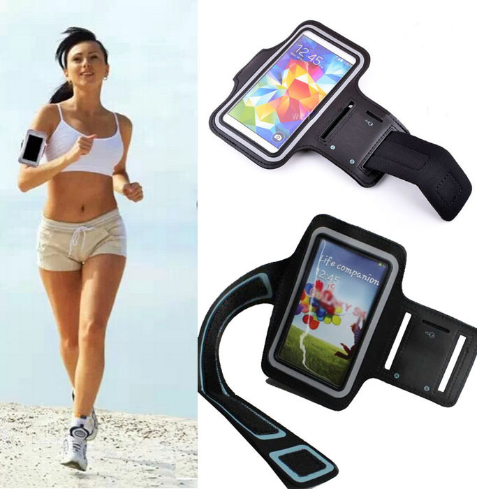 1X In Stock Outdoor Sport Running Jogging For ZTE Grand Era U985 Portable Cover Arm Band Strap Phone Bag Pouch Sports Cover Case(China (Mainland))