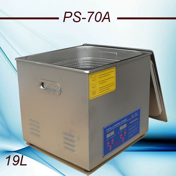 110V/220V Bath Cleaner PS-70A 40KHz 420w Ultrasonic Cleaner 19L Stainless Steel for Laboratory, test tube cleaning(China (Mainland))