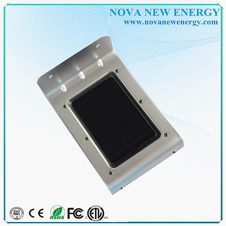 2015 High Quality IP65 Outdoor Solar Led Lighting Wall Lamp Garden Motion Sen
