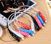 Wireless Bluetooth Sport Stereo Headset headphone Neckband Style With MIC Strong Bass Clear Voice HV 800 For iPhone LG Android