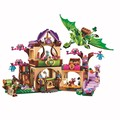 BELA Elves The Secret Market Place Building Blocks Kits For Girl Kids Model Toys Marvel Bricks