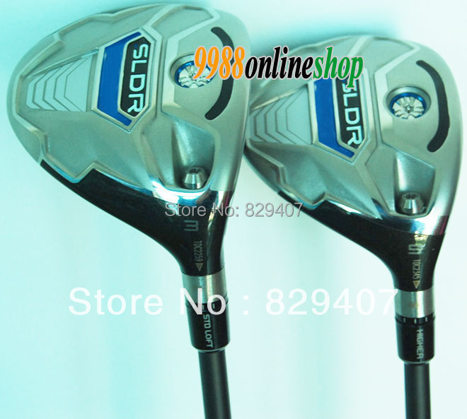 Free Shipping golf clubs Tm SLDR Men.s 3/5 Golf Fairway Woods Regular graphite shaft Plus Clubs HeadCover EMS Shipping(China (Mainland))