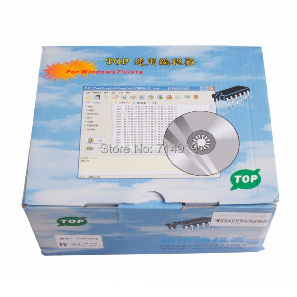 100% Brand new especiallyTOP-3000 Universal Programmer designed for MCU and EPROMs programming TOP3000 programmer DHL free ship(China (Mainland))