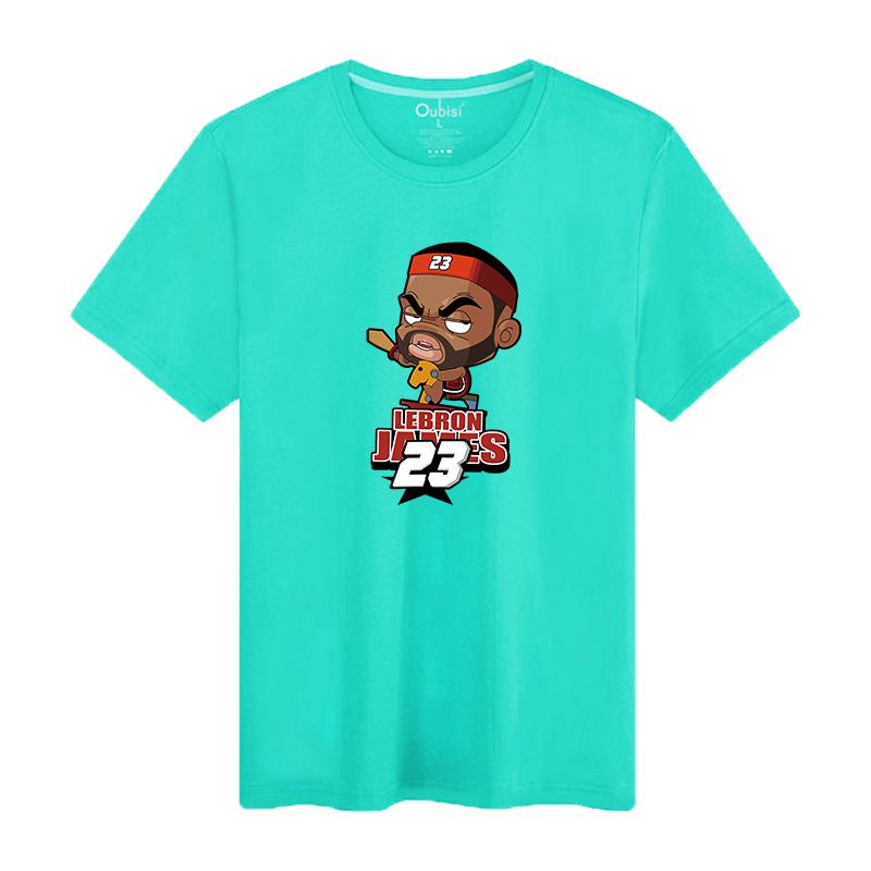 Oubisi High quality Fashion Brand New Design men cartoon basket ball player clothes(China (Mainland))