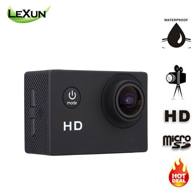 2016 Hot HD Camera 720P Action Digital Camera 2 inch Screen Video Photo Camera Underwater waterproof 30M MINI camcorder(China (Mainland))
