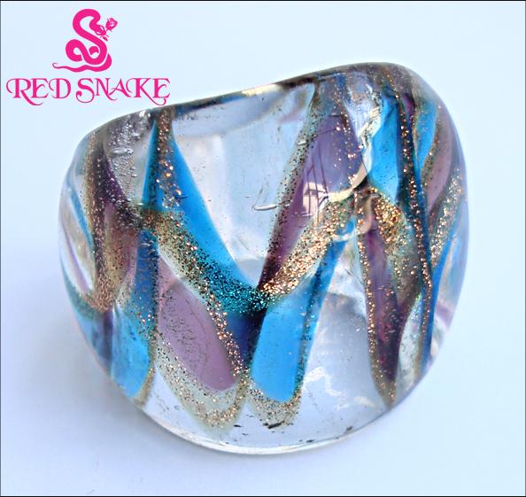 Anillos de cristal de murano al por mayor de alta calidad de china mayoristas de anillos de - Anillo cristal murano ...