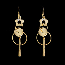 2016 New Fashion Design Women's Alluring Unusual tassel Dangle Earrings Wholesale Free Shipping(China (Mainland))