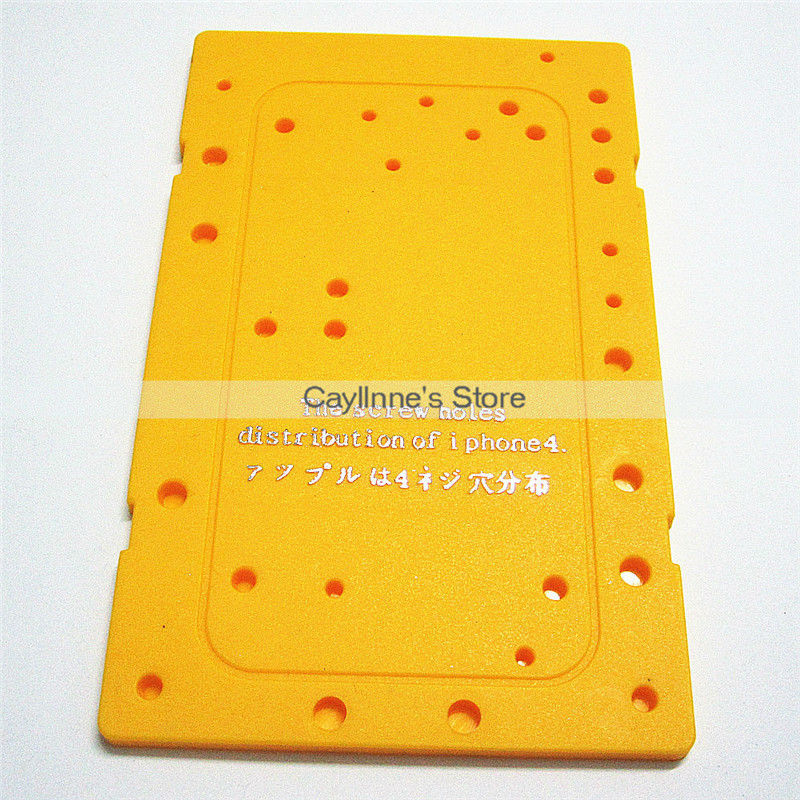 100pcs/Lot New Screw Hole Distribution for iPhone 4 4G Memory Location Board Free DHL