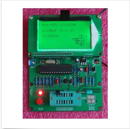 GM328 transistor tester \ ESR meter \ Cymometer \ square wave generator(China (Mainland))