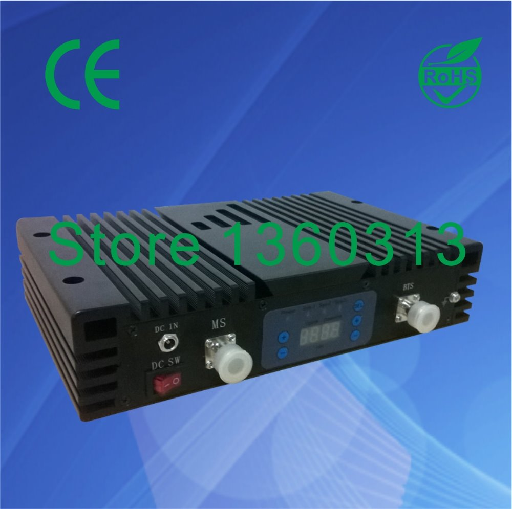 27dBm 80dB GSM DCS WCDMA booster with Digital display/900mhz 1800Mhz 2100MHZ repeater(China (Mainland))