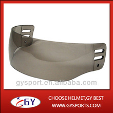 Free shipping high impact resistant PC hockey visor with high quality for hot sale