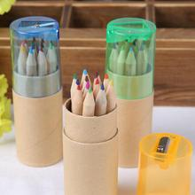 Buy 12 Pcs/lot 12 Colors Colored Pencils New Cute Wooden Writing Painting Pencils School Supplies for $1.48 in AliExpress store