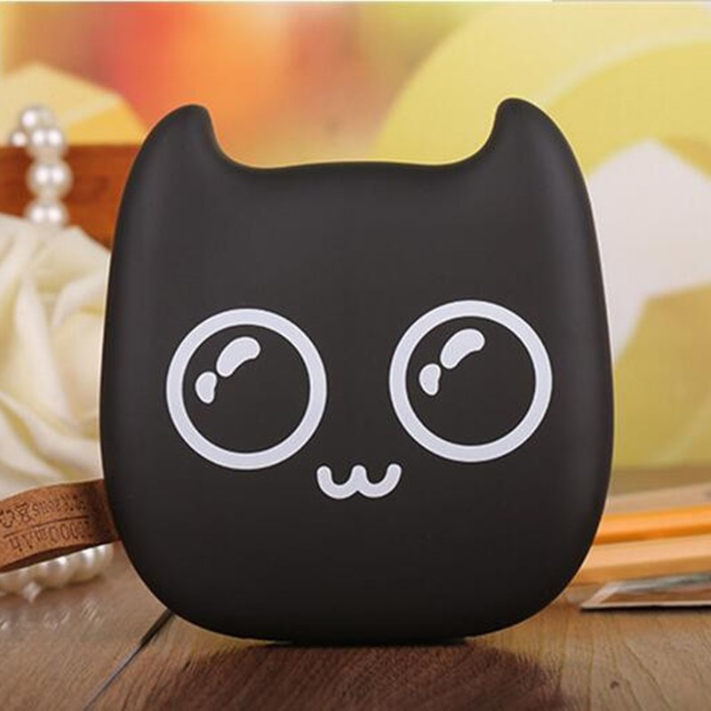 7800mah Super Mimo Tiny Cat Cartoon Gift PVC External Battery Packs for iPhone 7 7plus 6 6S Plus 5S 5C all Mobile Phone