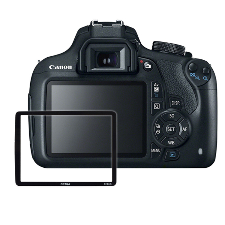 FOTGA PRO Optical Glass LCD Screen Protector For Canon EOS 1200D DSLR Camera Photography Accessories