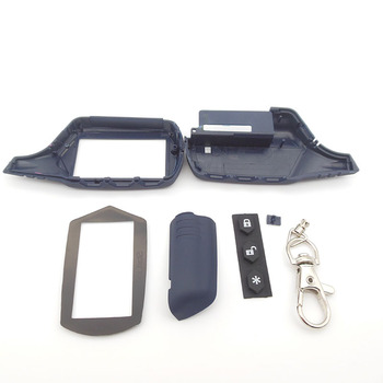 Russia version A91 case keychain for starline A91 lcd remote two way car alarm system free shipping
