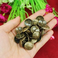 60*50mm Antique Brass Bronze Upholstery Nail Jewelry Gift Wine Case Box Sofa Decorative Tack Stud Pushpin Doornail Hardware