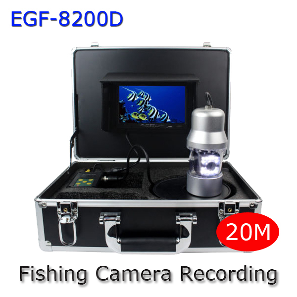 7Inch LCD Underwater Video Camera System Fish Finder DVR Sony 700TVL With SD Card Recording Fishing Monitor GSY8200D(China (Mainland))