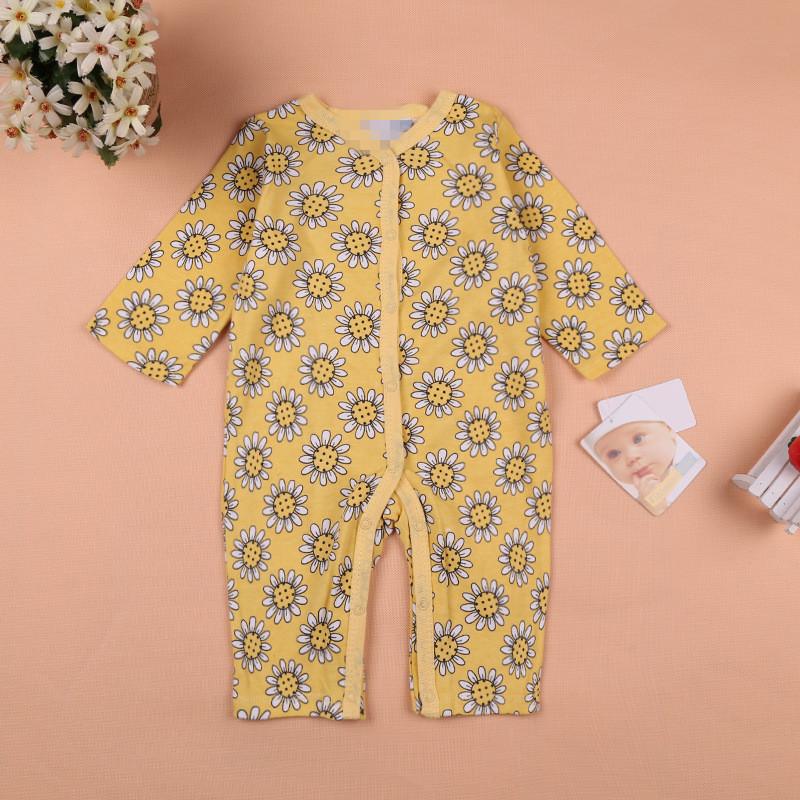 -9months Autumn /Winter Girl newborn, baby ,bebe infants one-piece Bee bodysuit,Creeper,jumpsuit,comjuntos clothing - Children Castle store