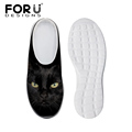 Leisure Women Mesh Shoes Beach Clogs Sandals Black Cat YorkshireTerrier New Sandalias Clogs Women Flats Slipper