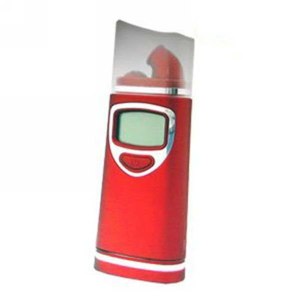 Free shipping New Digital alcohol tester with red backlight alcohol Breathalyzer,breath alcohol tester