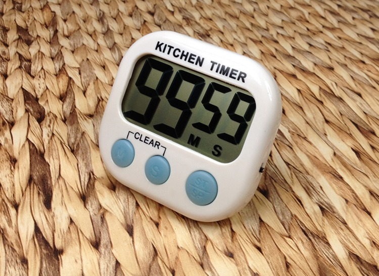 Large LCD Digital Kitchen Cooking Timer Count-Down Up Clock Loud Alarm Magnetic(China (Mainland))