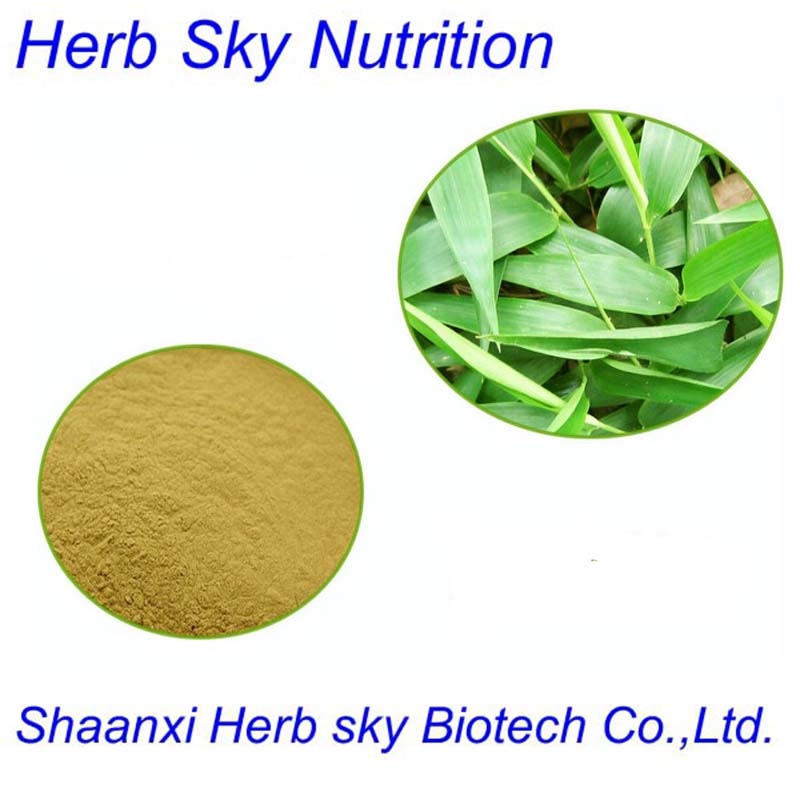 Professional Manufacturer Bamboo Leaves Extract Silica Bamboo leaf flavonoids