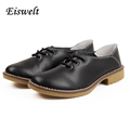 Women Shoes Genuine Leather Oxford Shoes For Women Flats Shoes Woman Shoes HL34