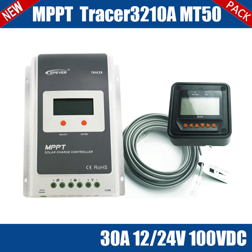 Tracer3210A MPPT 30A 100V solar charge controller package design for household, outdoor lighting, signals, wilderness monitoring<br><br>Aliexpress