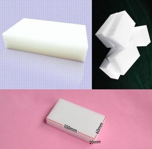 Magic Sponge Eraser Melamine Cleaner,multi-functional Cleaning 100x60x20mm 50pcs/lot Free Shipping