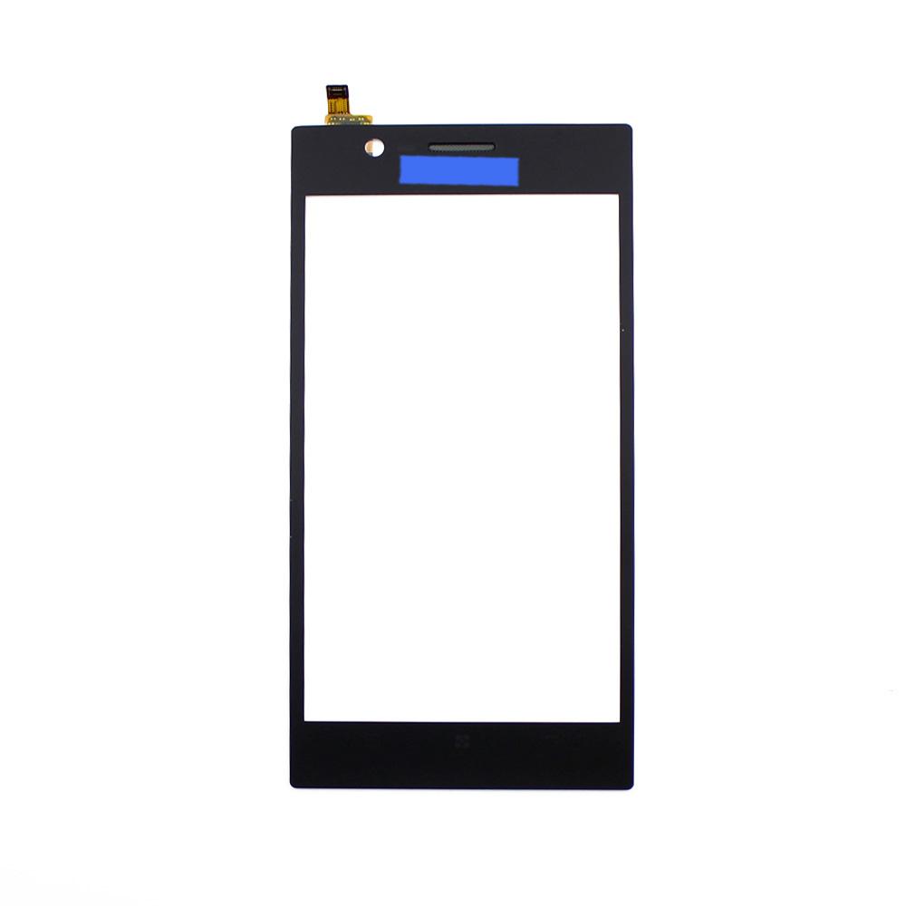 K900 10pcs Orginal Tested - Black Front Touch Screen Digitizer Outer Glass Lens For Lenovo K900 5
