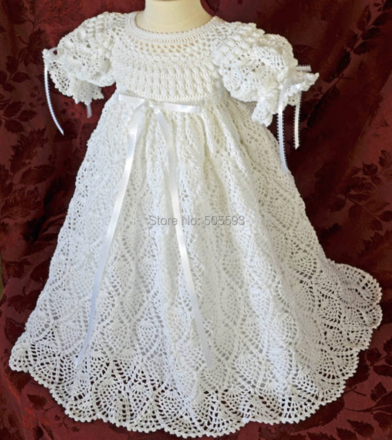 Crochet Baby Winter Dress Pattern : 2014 Baby girl dress Handmade Dress Pattern home dress ...